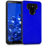 Hybrid Case Hülle LG G6 Hochglanz Blau