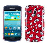 Hard Case Samsung Galaxy S3 Mini Comic rot