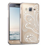 Crystal Case Samsung Galaxy J3 2016 Blume
