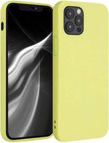 Case Hülle Apple iPhone 12 Pro Pastellgelb