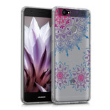 Crystal TPU Hülle Huawei Nova Blumenring