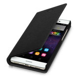 Flip Cover Huawei P8 Lite Schwarz