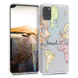 TPU Case Hülle Samsung Galaxy A21s Travel