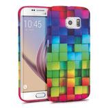 TPU Case Samsung Galaxy S6 Edge Regenbogen