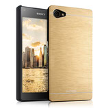 Hardcase Alu Sony Xperia Z5 Compact Gold