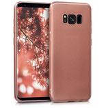 Crystal Case Samsung Galaxy S8 Hochglanz Rosegold
