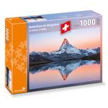 CARTA.MEDIA 7260 Puzzle Matterhorn im Morgenrot