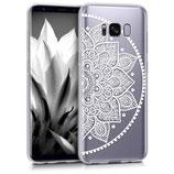 Crystal Case Samsung Galaxy S8 Halbblume