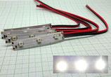 5X LED Beleuchtung mit Kabel Warmweiss