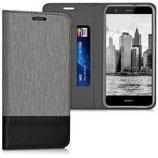 Bookstyle Case Huawei P10 Lite Grau