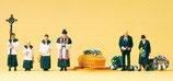 Preiser 10520 Beerdigung, katholischer Geistlicher H0