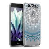 Crystal TPU Hülle Huawei Nova Sonne Blau