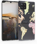 TPU Case Hülle Samsung Galaxy A42 Travel