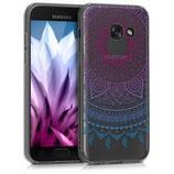 Crystal Case Hülle Samsung Galaxy A3 2017 Sonne Pink