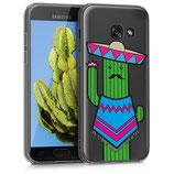 TPU Case Samsung Galaxy A3 2017 Kaktus
