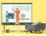 PREISER 10526 Plakatkleber auf Leiter H0