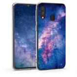TPU Case Hülle Samsung Galaxy A40 Sternen