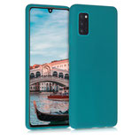 TPU Case Hülle Samsung Galaxy A41 Petrol matt