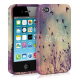 TPU Case Apple iPhone 4 / 4S Be Free