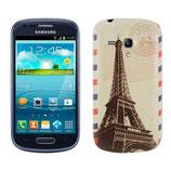 Akku Deckel Samsung Galaxy S3 Mini Eifelturm