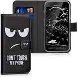Wallet Case Samsung Galaxy Xcover 4 Dont Touch