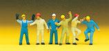 Preiser 10105 Industriearbeiter H0