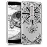 TPU Case Hülle Nokia 6.1 (2018) Kompass