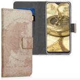 Wallet Case Samsung Galaxy A20e Weltkarte
