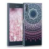 Crystal Hülle Case Sony Xperia XZ Sonne Rosa