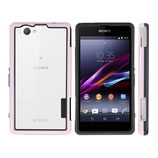 TPU Bumper Sony Xperia Z1 Compact Pink