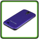 BACK COVER AKKU DECKEL F SAMSUNG GALAXY S4 i9500 i9505 BLAU
