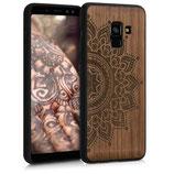 Holz Case Hülle Samsung Galaxy A8 2018