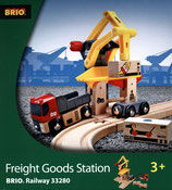 BRIO 33280 Railway Freight Goods Station