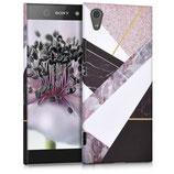 Hardcase Hülle Sony Xperia XA1 Marmor Mix