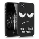 TPU Case Apple iPhone 4 / 4S Don't touch