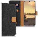 Wallet Case Samsung Galaxy A50 Dunkelgrau