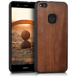 Walnussholz Case Hülle Huawei P10 Lite