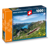 CARTA.MEDIA 7264 Puzzle Brienz Rothorn Bahn