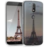 TPU Case Motorola Moto G4 G4 Plus Paris