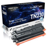 2x Toner Schwarz Brother TN-230