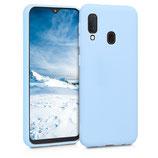 TPU Case Samsung Galaxy A20e Hellblau