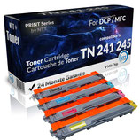 4x Toner Brother TN-241/245 4 Farben