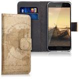 Wallet Case Samsung Galaxy A3 2017 Weltkarte