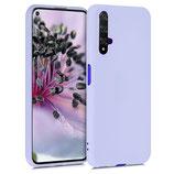 TPU Case Hülle Huawei Nova 5T Lavendel