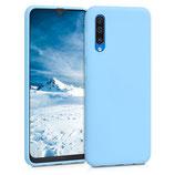 TPU Case Hülle Samsung Galaxy A50 Taubenblau