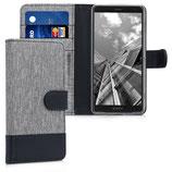 Wallet Case Sony Xperia XZ2 Compact Grau