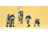 Preiser 10485 Feuerwehrmänner in moderner Einsatzkleidung H0