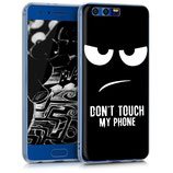 TPU Case Hülle Huawei Honor 9 Dont Touch