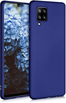 TPU Case Hülle Samsung Galaxy A32 Mettalic Blau