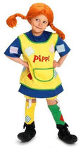 Pippi Langstrumpf 44.3600.05 - Pippi Kostüm, ab 3 Jahre